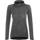 Devold Running Zip Neck LS Shirt Women Anthracite